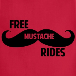 Free Mustache Rides T-Shirts - Adjustable Apron