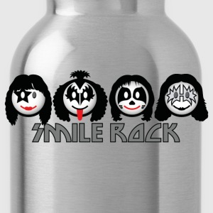 Smile Rock - Smiley Icons (dd light) Kids' Shirts - Water Bottle