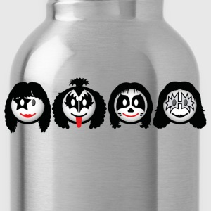 Smile Rock - Smiley Icons (dd print) Kids' Shirts - Water Bottle