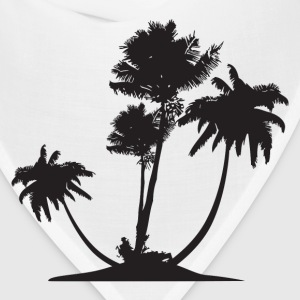 Palm Trees HD Design T-Shirts - Bandana