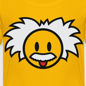 Smiley Einstein Icon 3c Kids' Shirts - Toddler Premium T-Shirt