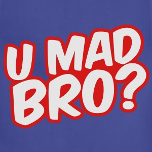 U Mad Bro? Kids' Shirts - Adjustable Apron