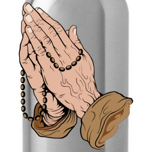 Prayer HD Design T-Shirts - Water Bottle