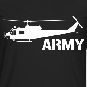 army helicopter - Men's Premium Long Sleeve T-Shirt