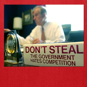 Ron Paul Don't Steal - Tote Bag