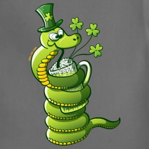 Saint Patrick's Day Snake Kids' Shirts - Adjustable Apron