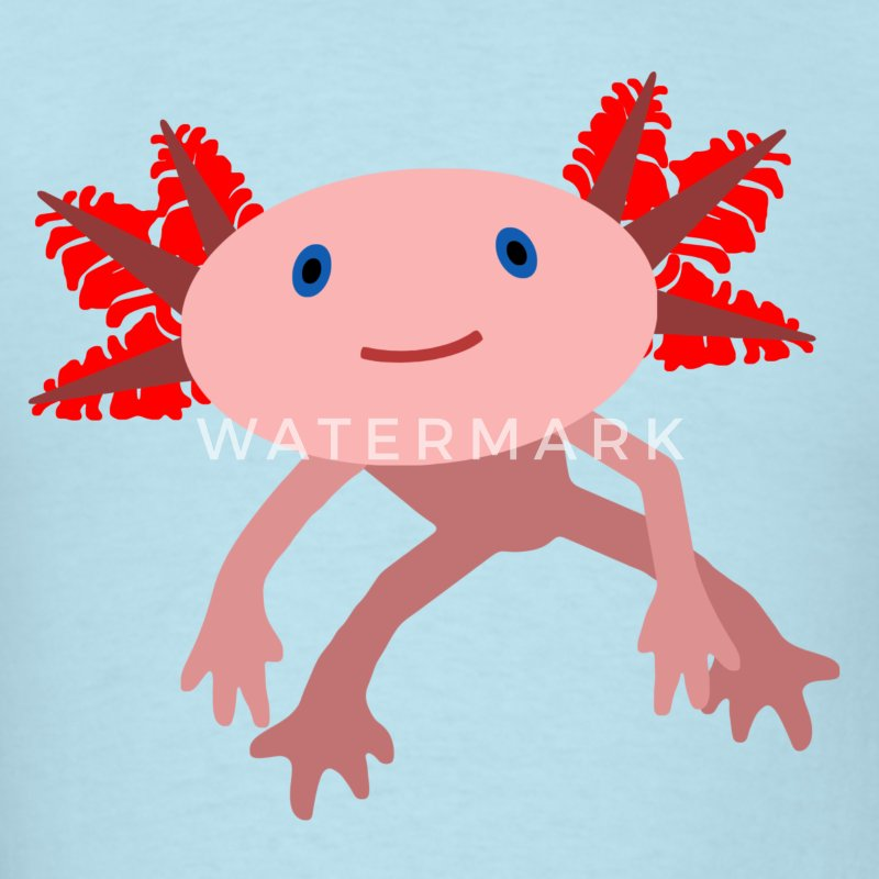 Axolotl T-Shirts - Men's T-Shirt
