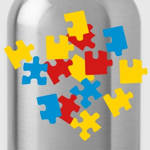 Puzzle Kids' Shirts - Water Bottle