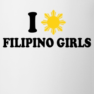 i love filipino girls - Coffee/Tea Mug