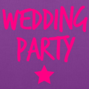 wedding party new funky and with a star T-Shirts - Tote Bag