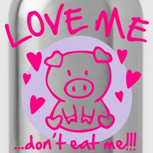 Love me, dont eat me T-Shirts - Water Bottle