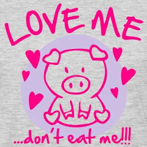 Love me, dont eat me T-Shirts - Men's Premium Long Sleeve T-Shirt