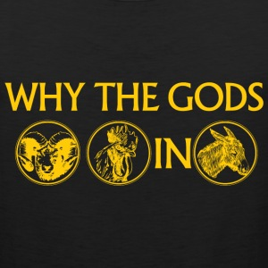 WHY THE GODS RAM COCK IN ASS - Men's Premium Tank