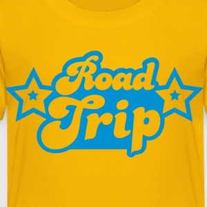 funky cool road trip design with stars Kids' Shirts - Toddler Premium T-Shirt