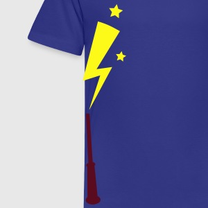simple magic wand up with lightning strike Kids' Shirts - Toddler Premium T-Shirt
