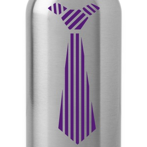 tie Design Kids' Shirts - Water Bottle