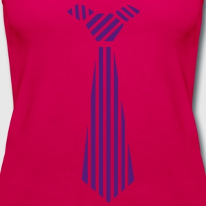 tie Design Kids' Shirts - Women's Premium Tank Top
