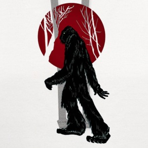 Sasquatch Taking a Stroll in the Woods - Contrast Hoodie