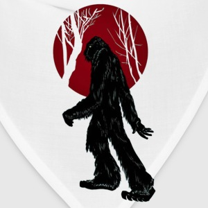 Sasquatch Taking a Stroll in the Woods - Bandana
