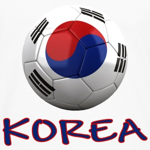 Team South Korea FIFA World Cup T-Shirts - Men's Premium Long Sleeve T-Shirt