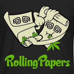 Rolling Papers T-Shirts - Men's Premium Long Sleeve T-Shirt