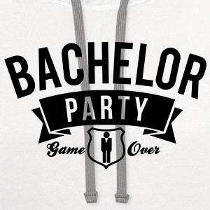 bachelor party T-Shirts - Contrast Hoodie