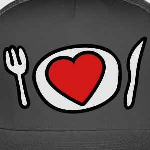love_lunch_3c T-Shirts - Trucker Cap