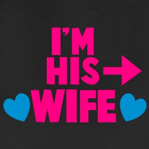 I'm his WIFE with right arrow T-Shirts - Leggings