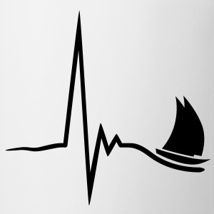 sailing_pulse_1c T-Shirts - Coffee/Tea Mug