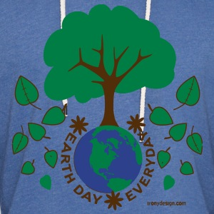 Earth Day Everyday - Unisex Lightweight Terry Hoodie