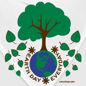 Earth Day Everyday - Bandana
