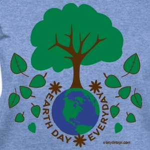 Earth Day Everyday - Women's Wideneck Sweatshirt