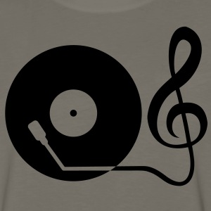clef_turntable T-Shirts - Men's Premium Long Sleeve T-Shirt