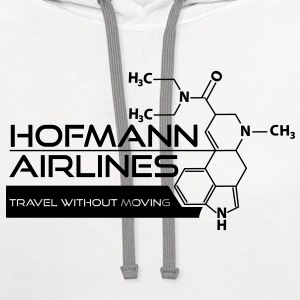 Hofmann Airlines T-Shirt [White] - Contrast Hoodie
