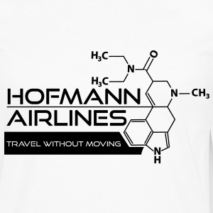Hofmann Airlines T-Shirt [White] - Men's Premium Long Sleeve T-Shirt