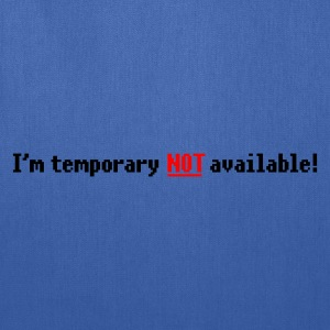 N/A - Not available (big NOT) 2c T-Shirts - Tote Bag