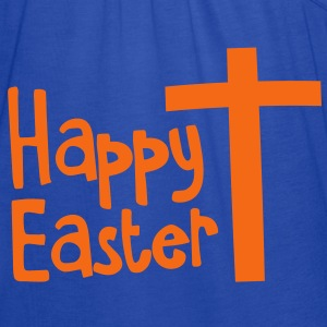 Happy EASTER with a Christian cross Toddler Shirts - Women's Flowy Tank Top by Bella