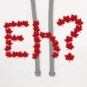 Eh Canada Day  - Contrast Hoodie