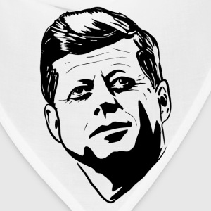 JFK HD Design T-Shirts - Bandana
