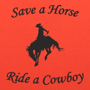 Ride a Cowboy T-Shirt - Tote Bag