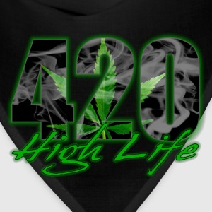 420 High Life T-Shirts - Bandana