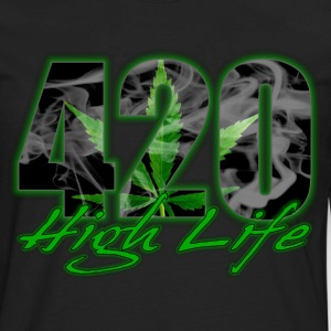 420 High Life T-Shirts - Men's Premium Long Sleeve T-Shirt