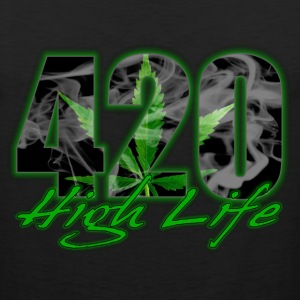420 High Life T-Shirts - Men's Premium Tank