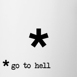 Go To Hell Footnote T-Shirts - Coffee/Tea Mug