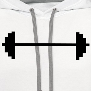 weight lifting T-Shirts - Contrast Hoodie