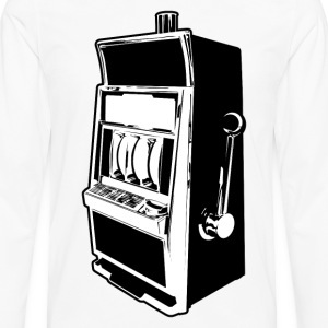Slot Machine HD Design T-Shirts - Men's Premium Long Sleeve T-Shirt