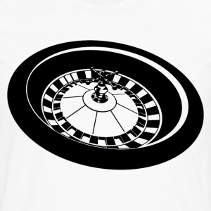 Roulette HD Design T-Shirts - Men's Premium Long Sleeve T-Shirt
