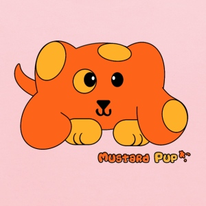 Mustard Pup Pudgie Pet - Designs by Melody Kids' Shirts - Kids' Hoodie
