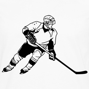 Hockey HD VECTOR T-Shirts - Men's Premium Long Sleeve T-Shirt