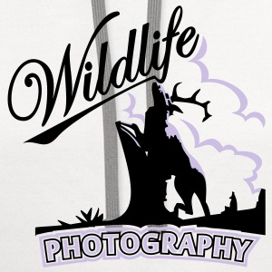 wildlife photography (2c) T-Shirts - Contrast Hoodie